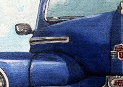 BLUE AUTOMOBILES